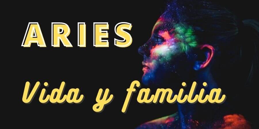 aries vida y familia